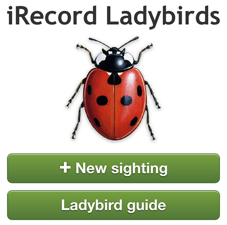 Ladybird app home page