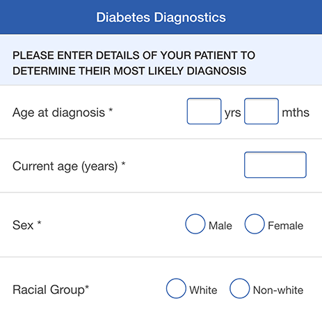 Diabetes Diagnostics App
