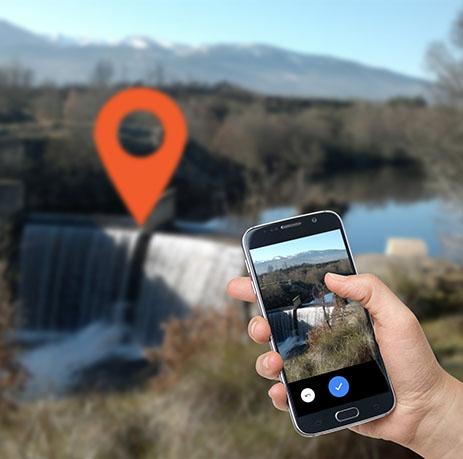 Amber barrier tracker citizen science app