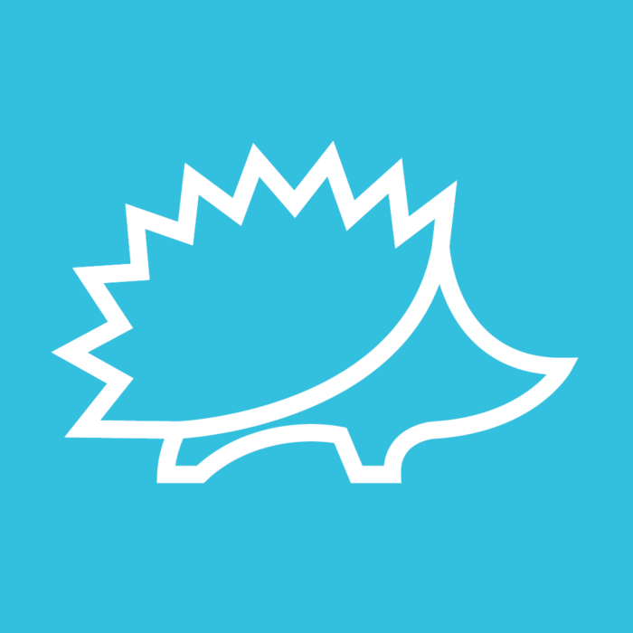 Hedgehog Mapper Logo - Natural Apptitude